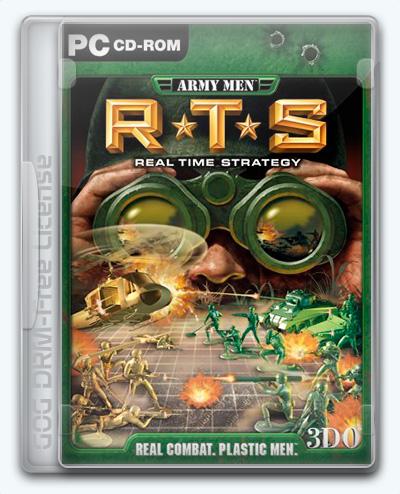 Army Men RTS / Вояки: RTS (2002) [En] (1.0) License GOG