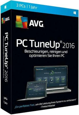 AVG PC TuneUp 16.77.3.23060 Final (2016) PC