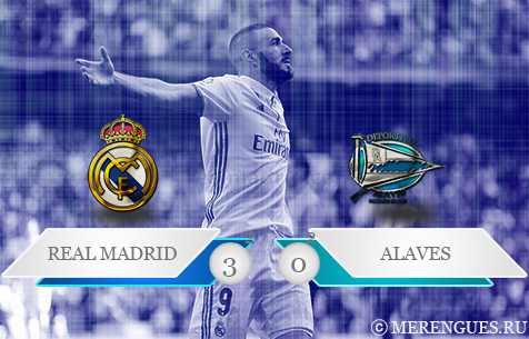 Real Madrid C.F. - Deportivo Alavés S.A.D. 3:0