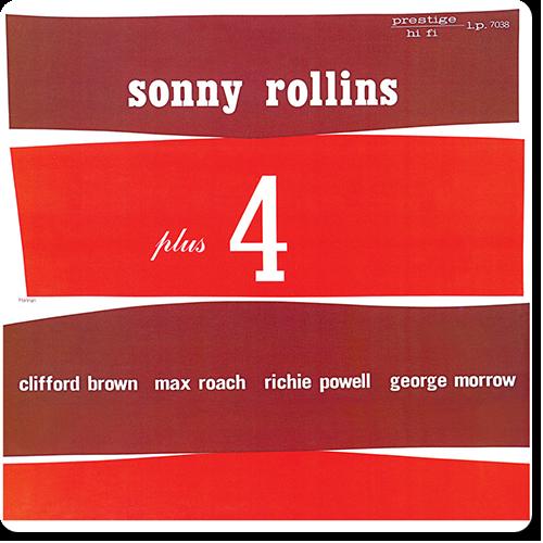 [TR24][OF] Sonny Rollins - Plus Four - 1956/2014 (Post-Bop)
