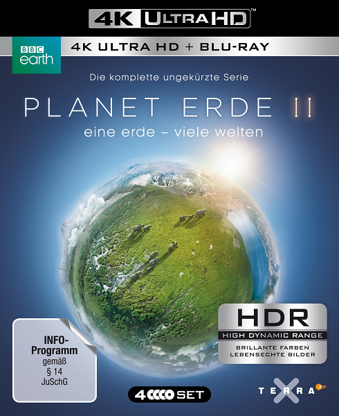 BBC: Планета Земля 2 / Planet Earth II [01-06 из 06] (2016) BDRip | Р2