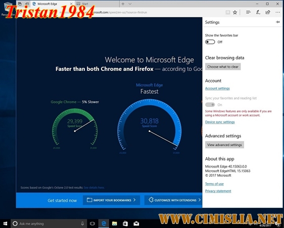 Windows 10 Version 1703 with Update [15063.250] [x86-x64] AIO [24in2] [v17.04.26] [2017 / RUS / ENG]