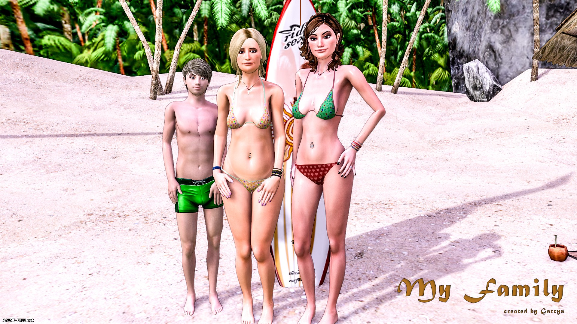 Моя Семья / My Family [Uncen] [3DCG] [RUS] Porn Comics