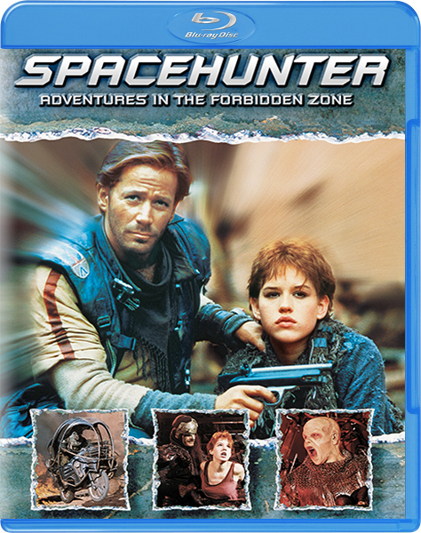 Космический охотник: Приключения в запретной зоне / Spacehunter: Adventures in the Forbidden Zone (1983) BDRip 720p | P, A