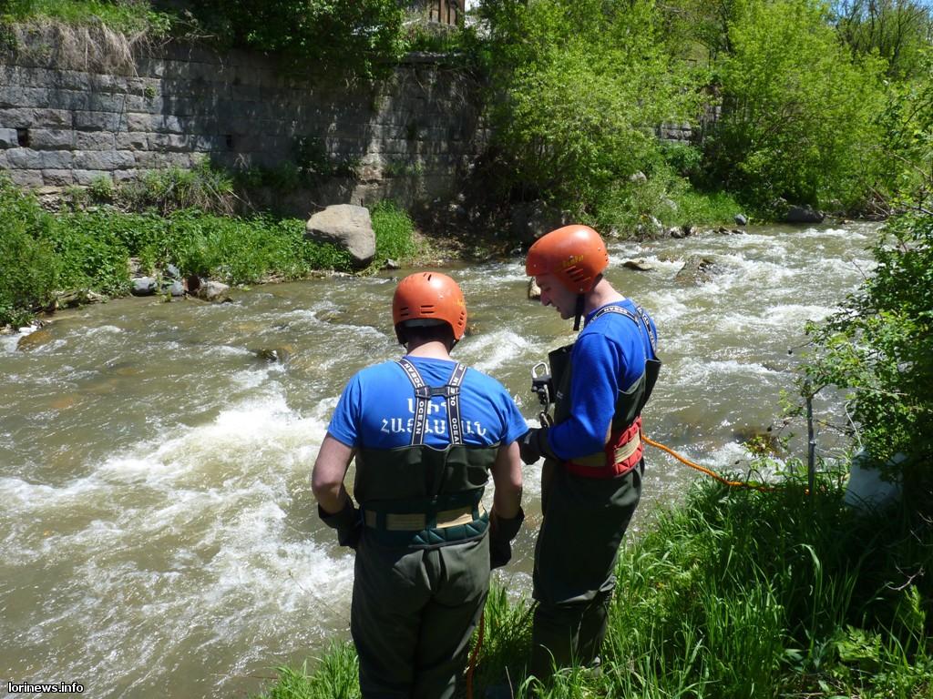 Պարզվել է Վանաձորում գետի մեջ խեղդված տղամարդու ինքնությունը(Ֆոտո)