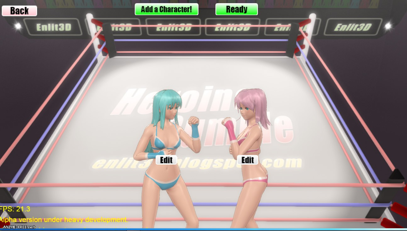 Heroine Rumble [2017] [Uncen] [Fighting] [ENG] H-Game