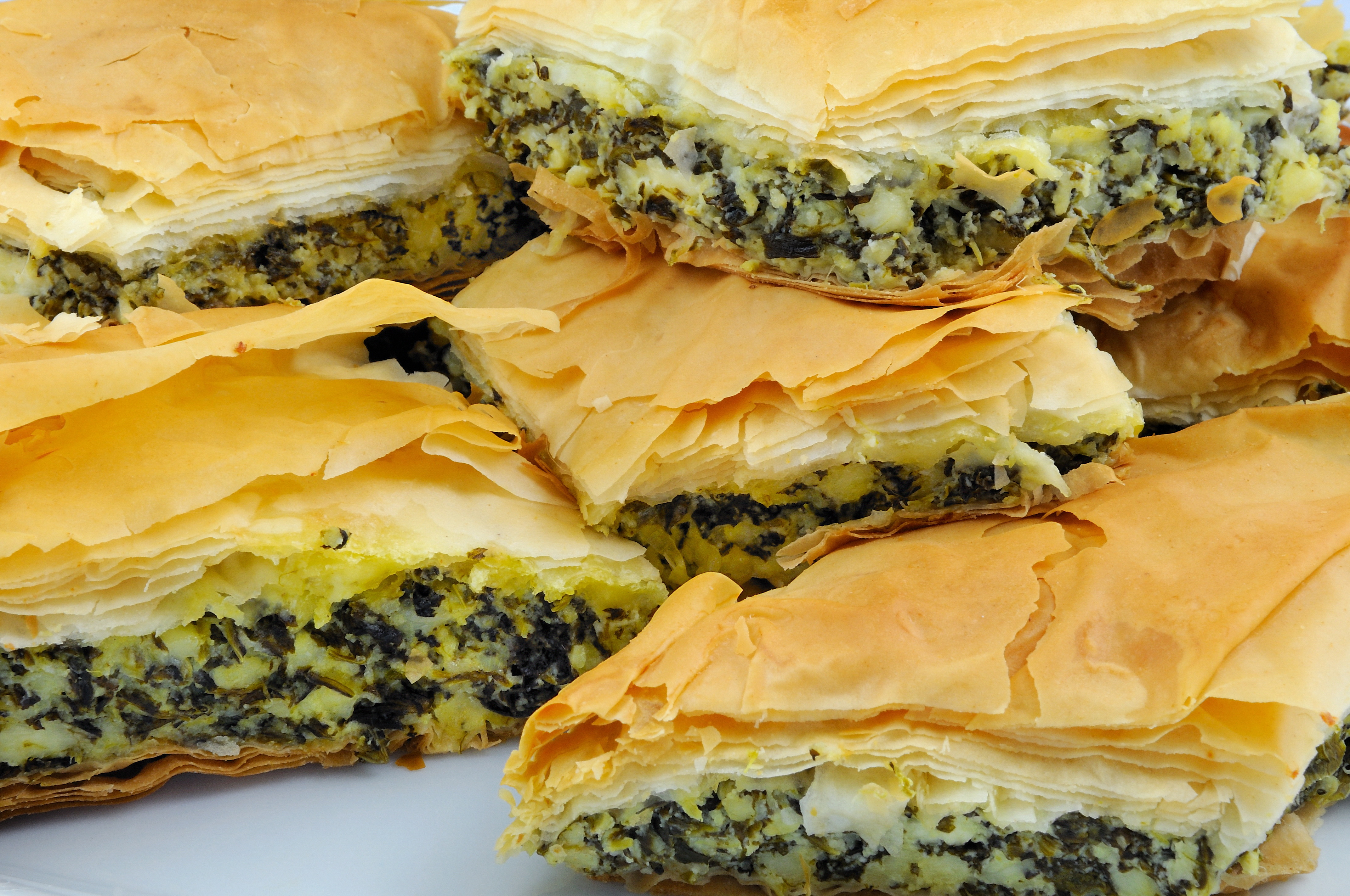 пироги слоеные в мультиварке рецепты с фото