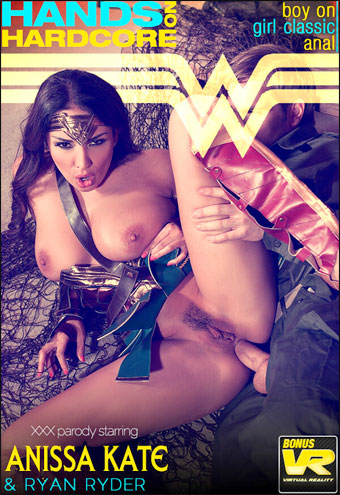 Anissa Kate - Horny Wonderwoman: Salacious Babe in Costume Fucked Up Her Ass (2017) SiteRip