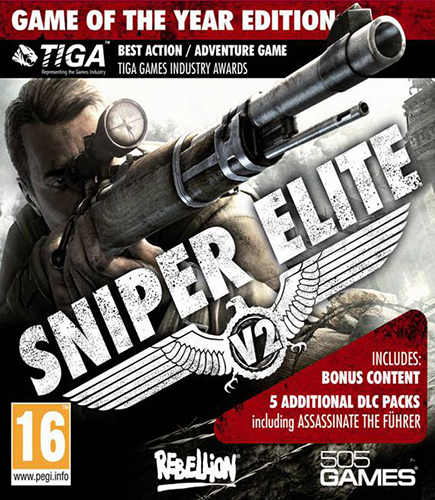 Sniper Elite V2 [v 1.13 + DLCs] (2012) PC | Лицензия