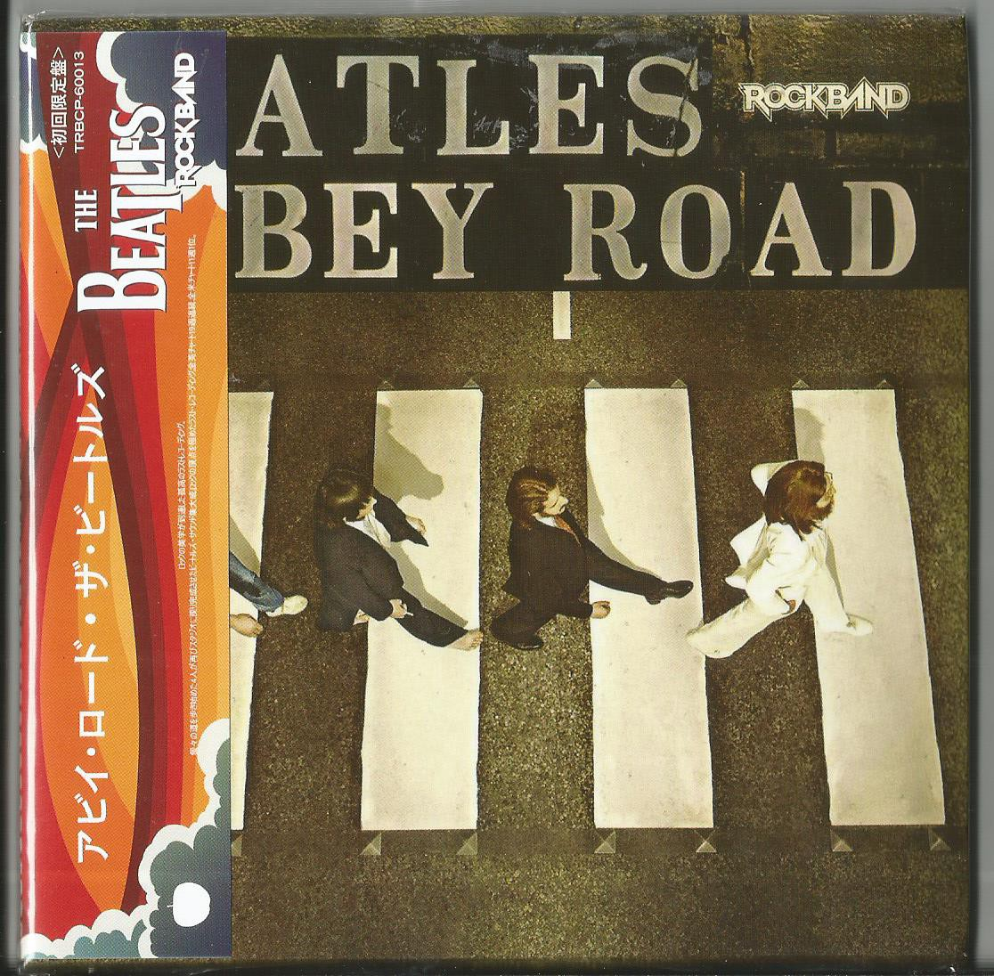 BEATLES - Abbey Road - Rockband Version 2009 (newly Remixed And Remastered Tracks, Full Versions Of Songs, Jap