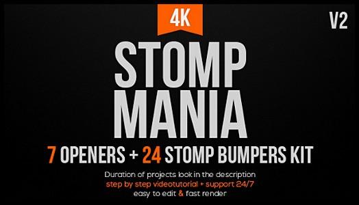 Проекты - VideoHive - Stomp Mania - 20115231 [AEP]