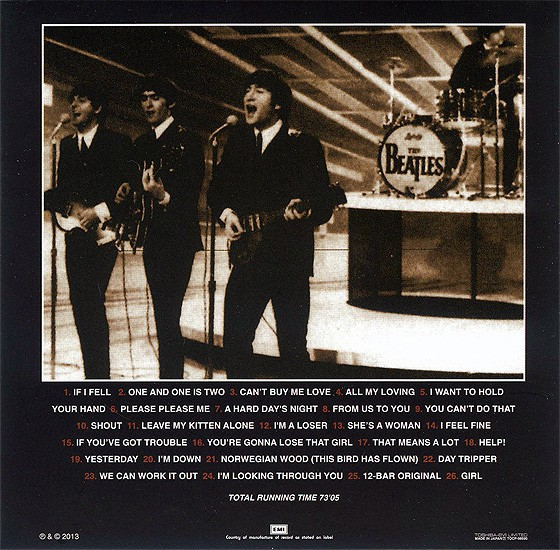 beatles, the artifacts - the definitive collection of beatles rarities : beatlemania 1964-1965,  1993   (japanese