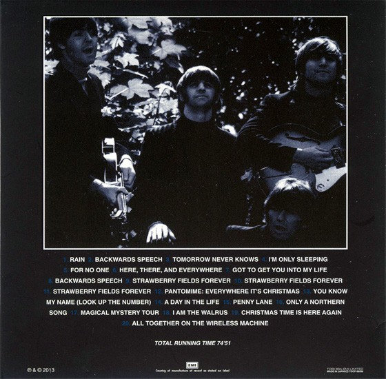 beatles, the artifacts - the definitive collection of beatles rarities : northern songs 1966-1967, 1994  (japanes