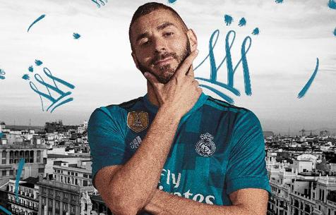 """""""Мадрид"""" представил третий комплект формы на предстоящий сезон"""