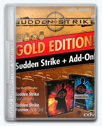 Sudden Strike / Противостояние 3 (2001) [Ru/Multi] (1.21/dlc) License GOG [Gold]