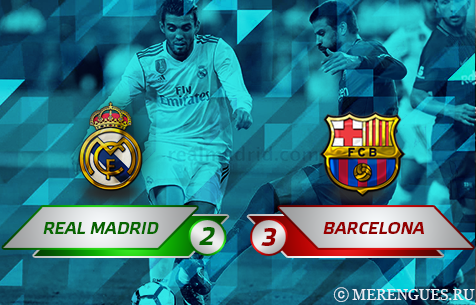 Real Madrid C.F. - FC Barcelona 2:3