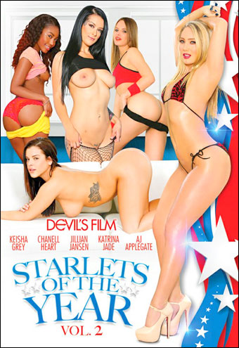 Devil's Films - Звездочки года 2 / Starlets Of The Year Vol.2 (2017) DVDRip