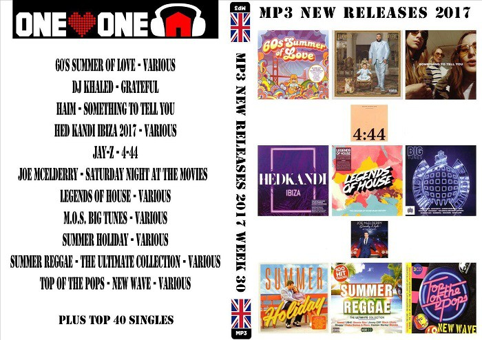 MP3 New Releases 2017 Week 30