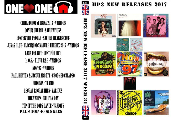 MP3 New Releases 2017 Week 31