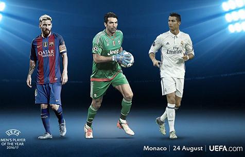 Роналду номинирован на звание лучшего игрока Европы