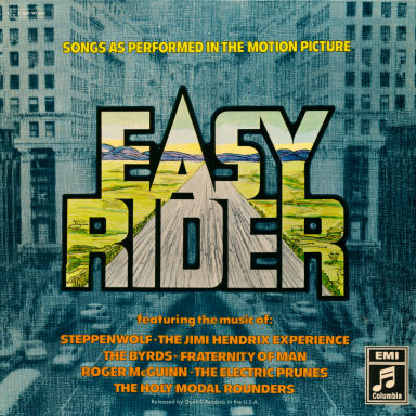 (Soundtrack)[LP] [24 / 96] Various - Easy Rider (Songs As Performed In The Motion Picture) - 1969, FLAC (image+.cue)