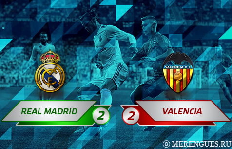 Real Madrid C.F. - Valencia C.F. 2:2
