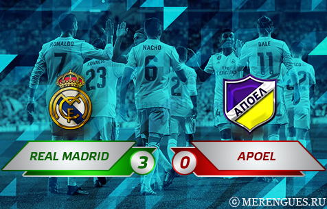 Real Madrid C.F. - APOEL F.C. 3:0