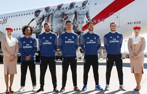 """""""Мадрид"""" подписал новый контракт с Emirates на 70 млн евро"""