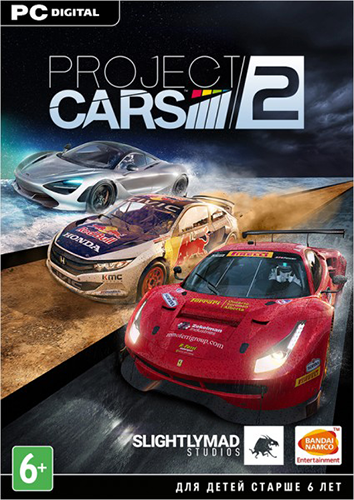 Project CARS 2: Deluxe Edition [v 1.1.3.1] (2017) PC