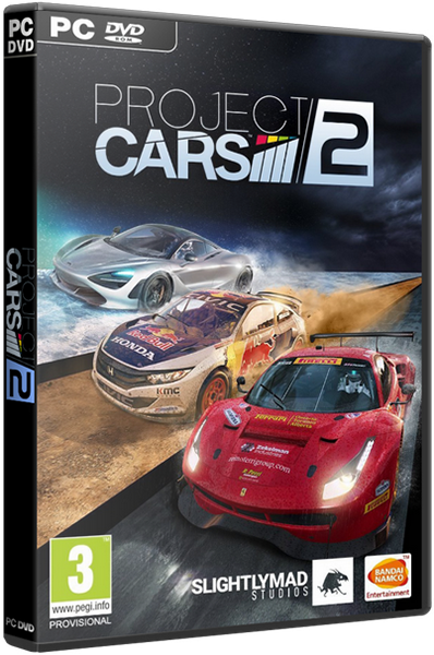 Project CARS 2: Deluxe Edition v.5.0.0.1 + DLC (2017) [Rus/Eng] RePack by xatab