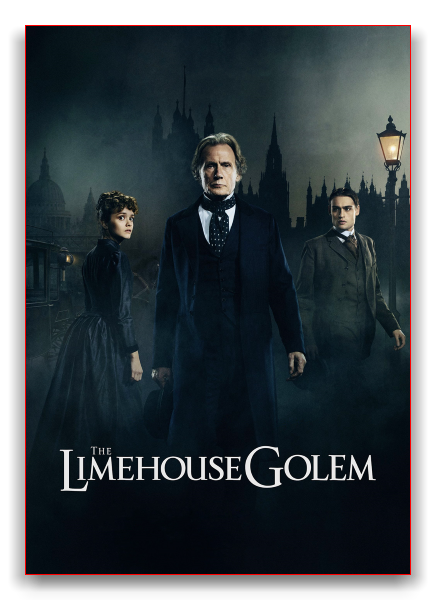 Голем / The Limehouse Golem (Хуан Карлос Медина / Juan Carlos Medina) [2016, Великобритания, ужасы, триллер, WEB-DLRip] MVO