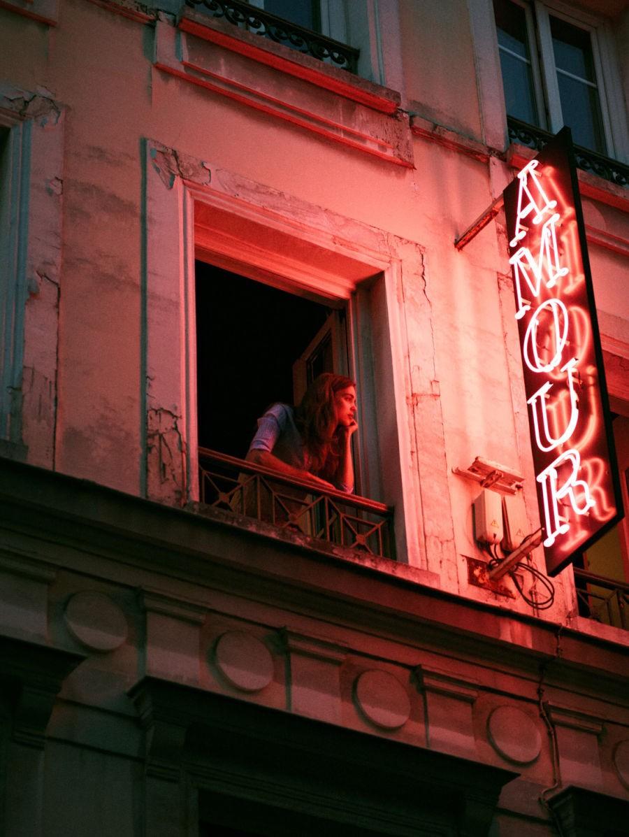Окно отеля