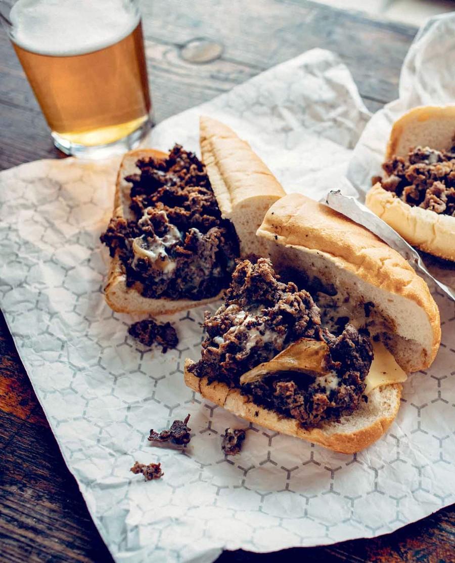 Сендвичи с мясом