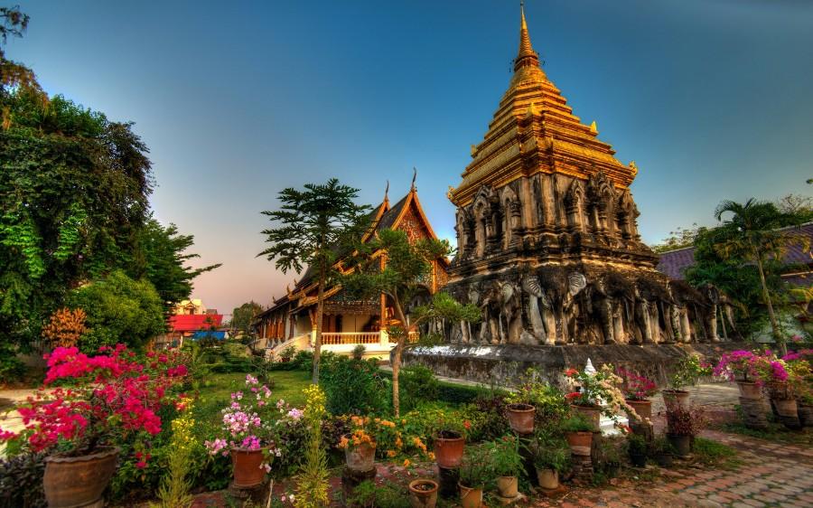 Тайские дворцы