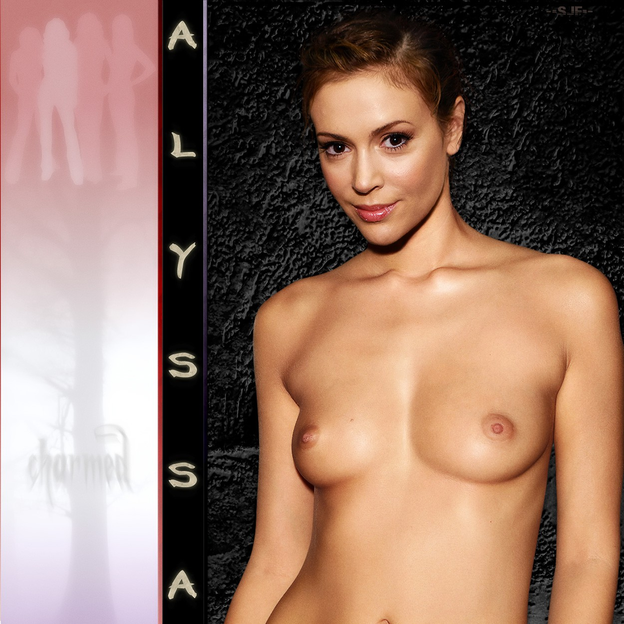 Alyssa milano naked fake 9