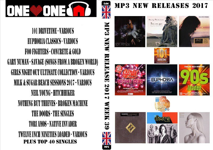 MP3 New Releases 2017 Week 39