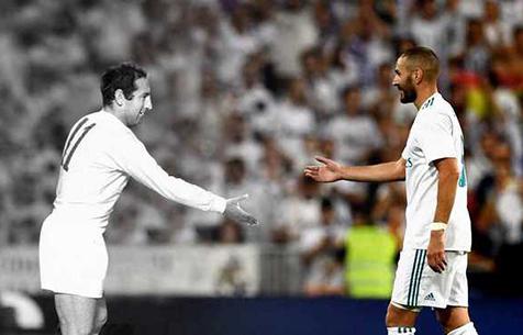 """Бензема сравнялся с Хенто по количеству забитых голов за """"Мадрид"""""""