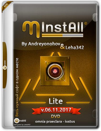 MInstAll Lite v.06.11.2017 (2017) PC | by Andreyonohov & Leha342