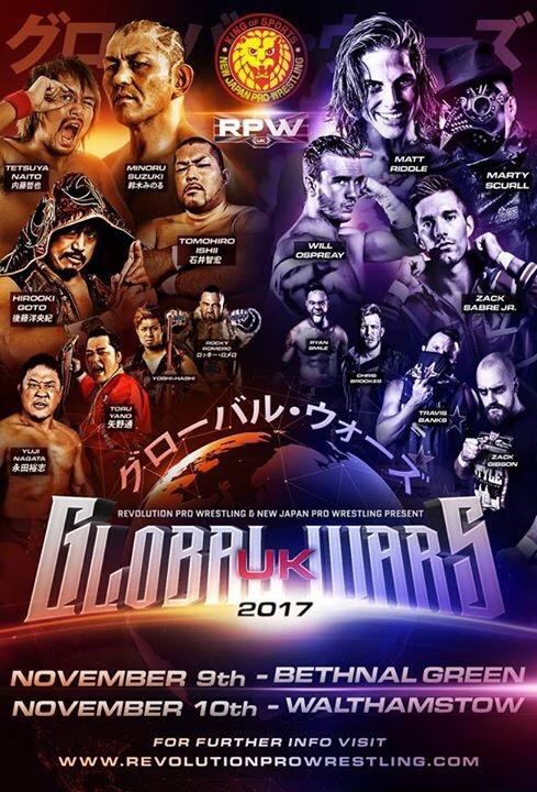 RPW. Global Wars UK 2017 Night 2