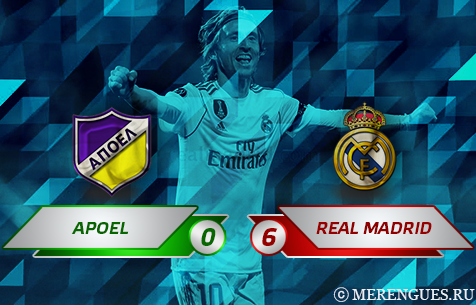 APOEL F.C. - Real Madrid C.F. 0:6