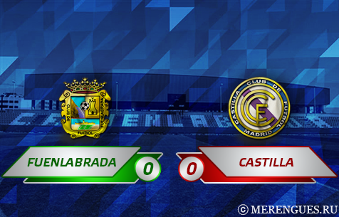 CF Fuenlabrada - Real Madrid Castilla 0:0