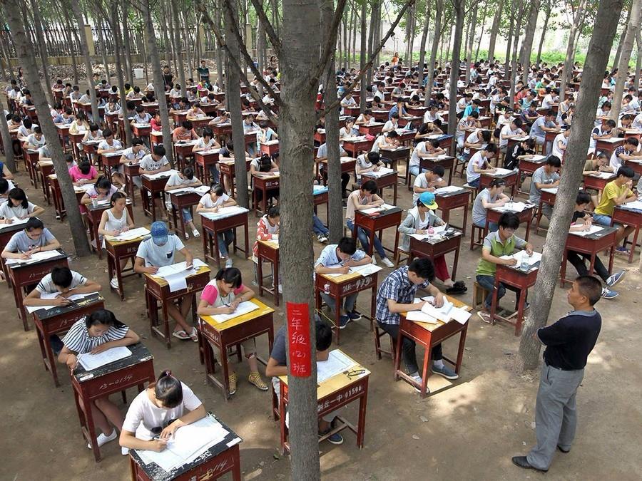 Государственный экзамен в Китае
