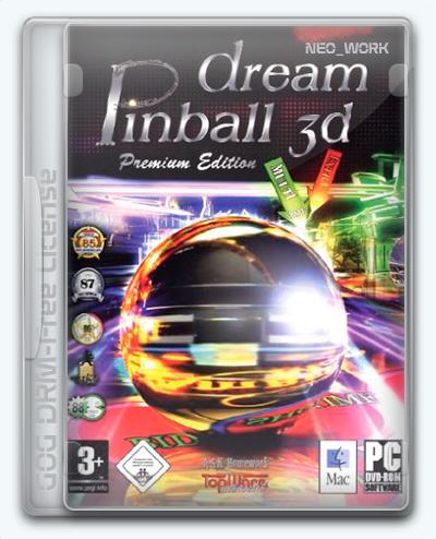 Dream Pinball 3D / 3D Пинбол. Во власти азарта (2006) [En] (1.1.0.0) License GOG