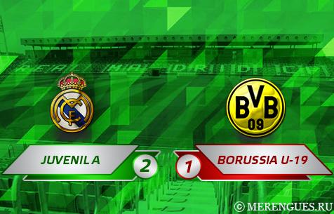 Real Madrid Juvenil A - BV Borussia Dortmund U-19 2:1