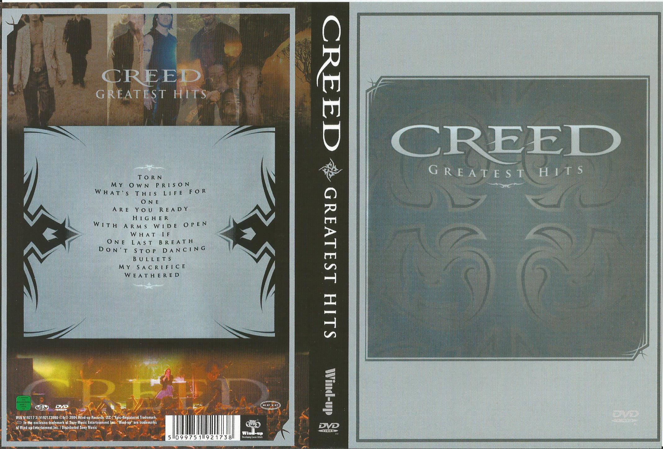 Greatest hits (all regions) by Creed, DVD with apexmusic
