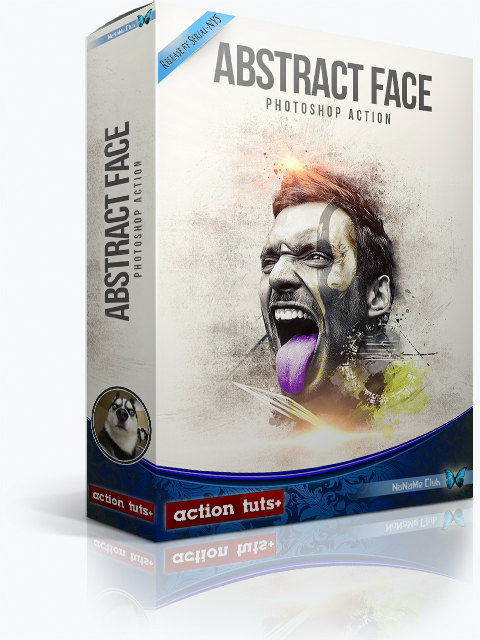 Экшены - GraphicRiver - Abstract Face - Photoshop Action - 21088175 [ATN, ABR, PAT]