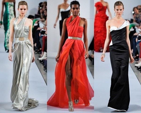 Длинные вечерние платья: особенности выбора силуэта, цвета и ткани -