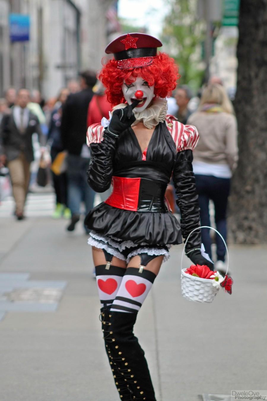 Странный клоун