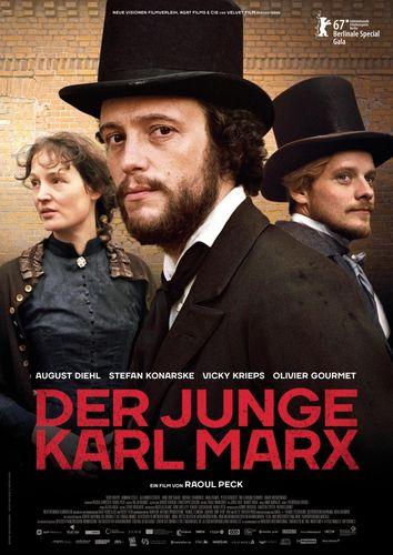 Молодой Карл Маркс / Le jeune Karl Marx (2017) HDRip [MVO] [AD]