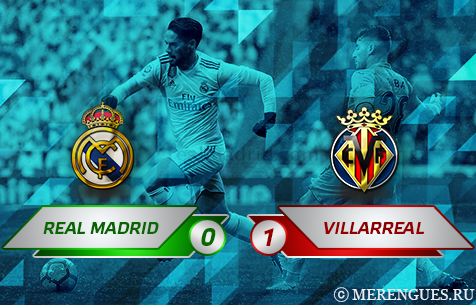 Real Madrid C.F. - Villarreal CF 0:1